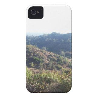 Cubierta del teléfono de Hollywood Hills iPhone 4 Case-Mate Protectores