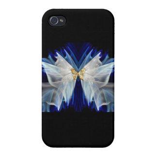 Cubierta del teléfono de la dicha de la mariposa… iPhone 4/4S fundas