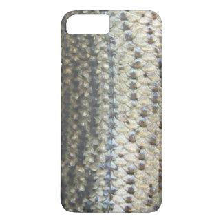Cubierta del teléfono de la lubina rayada funda iPhone 7 plus
