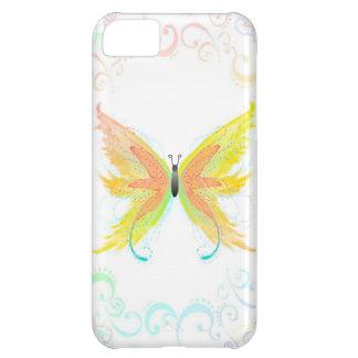 Cubierta del teléfono de la mariposa funda para iPhone 5C