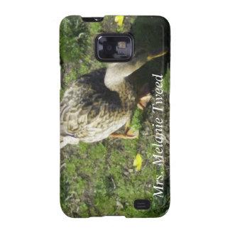 Cubierta del teléfono de señora Melanie Tweed Sams Samsung Galaxy S2 Fundas