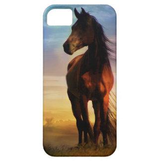 Cubierta del teléfono del amante I del caballo iPhone 5 Carcasa