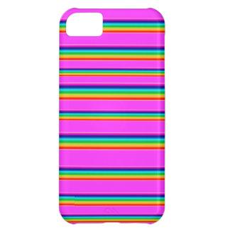 Cubierta del teléfono del arco iris funda para iPhone 5C