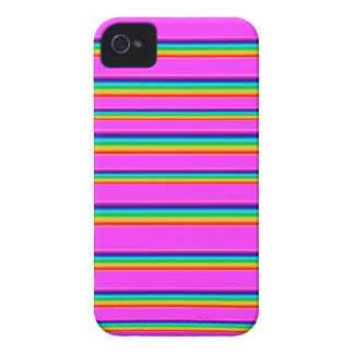 Cubierta del teléfono del arco iris iPhone 4 Case-Mate protector