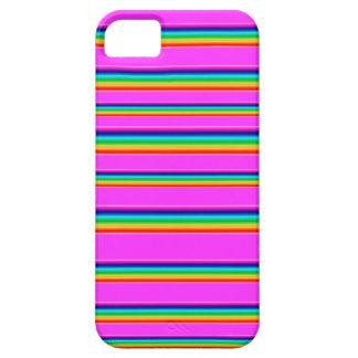 Cubierta del teléfono del arco iris iPhone 5 fundas