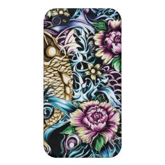 Cubierta del teléfono del arte I de la resaca de K iPhone 4 Fundas