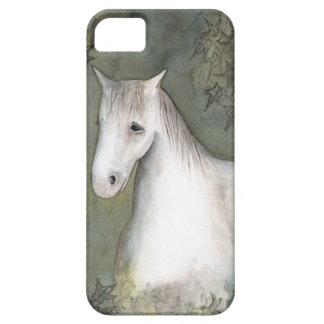 Cubierta del teléfono del caballo y de la hiedra iPhone 5 carcasas