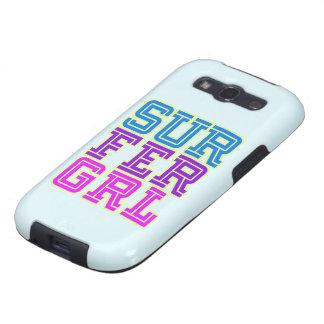 Cubierta del teléfono del chica de la persona que  galaxy SIII cárcasas