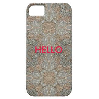 Cubierta del teléfono del diseño del cordón iPhone 5 Case-Mate funda