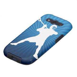 Cubierta del teléfono del jugador de LaCrosse Galaxy SIII Protectores