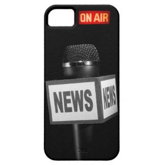 Cubierta del teléfono del micrófono del En-Aire iPhone 5 Case-Mate Carcasas