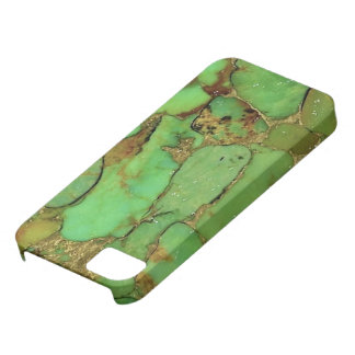 Cubierta del teléfono del modelo de la turquesa iPhone 5 protectores