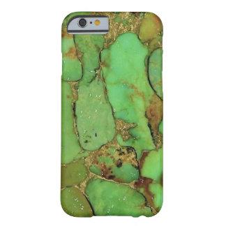 Cubierta del teléfono del modelo de la turquesa funda barely there iPhone 6