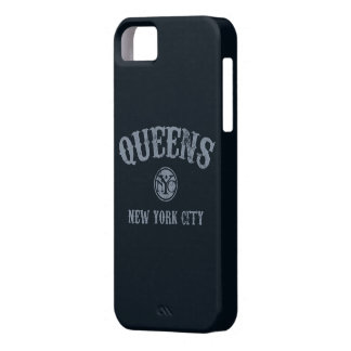 Cubierta del teléfono del Queens iPhone 5 Coberturas