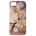 Cubierta del teléfono del Seashell del verano iPhone 5 Protector
