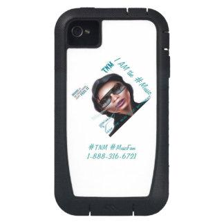 Cubierta del teléfono del #TNM Funda Para iPhone 4