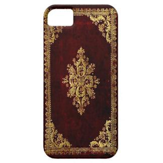 Cubierta del teléfono - libro antiguo - estilo del iPhone 5 carcasas