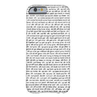 cubierta del verbo compuesto del iPhone 6/6s Funda De iPhone 6 Barely There