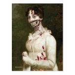 Cubierta del zombi tarjeta postal