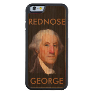 CUBIERTA DIVERTIDA del iPhone 6 de GEORGE Funda De iPhone 6 Bumper Cerezo