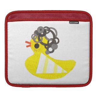 Cubierta Ducky de Ipad del disco Funda Para iPads