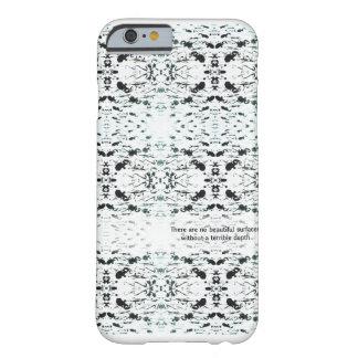 Cubierta dura abstracta de la cita iPhone6 de la Funda Para iPhone 6 Barely There