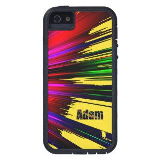 Cubierta dura del iPhone 5 de Adán Xtrem con iPhone 5 Carcasa