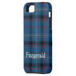 Cubierta dura del iPhone 5 del tartán de Fitzgeral iPhone 5 Cárcasas