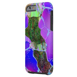 Cubierta dura del iPhone 6 del estilo de la lila Funda Resistente iPhone 6
