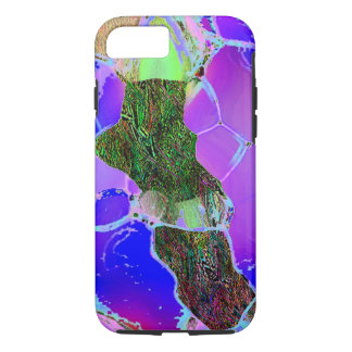 Cubierta dura del iPhone 7 del estilo de la lila Funda iPhone 7