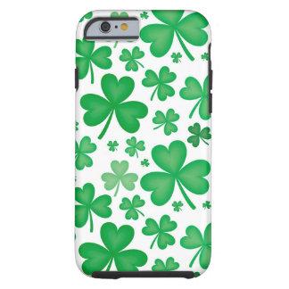 Cubierta (dura) irlandesa del iPhone 6 del trébol Funda De iPhone 6 Tough