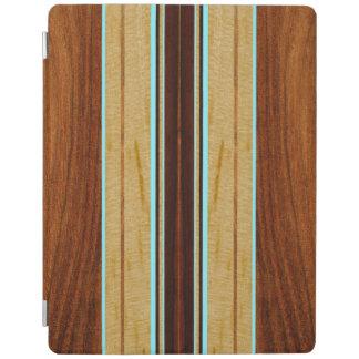 Cubierta elegante del falso Koa iPad de madera de Cover De iPad