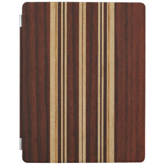 Cubierta elegante del falso Koa iPad de madera de Cubierta De iPad