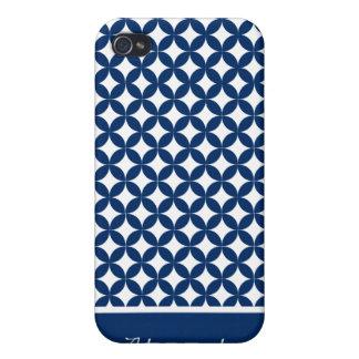 Cubierta elegante del iPhone 4 de la marina de gue iPhone 4 Cárcasas