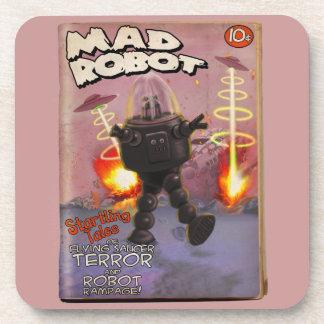 Cubierta enojada de la pulpa del robot posavaso