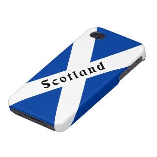 Cubierta escocesa del iPhone 4 de la bandera iPhone 4 Cárcasa