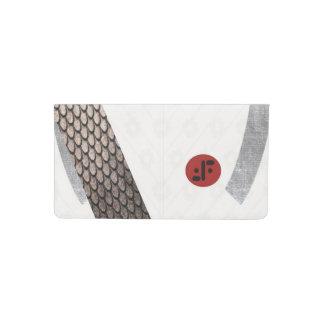 Cubierta extranjera del talonario de cheques de la funda para chequera