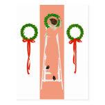 Cubierta Fadeaway del navidad de Coles Phillips lo Postal