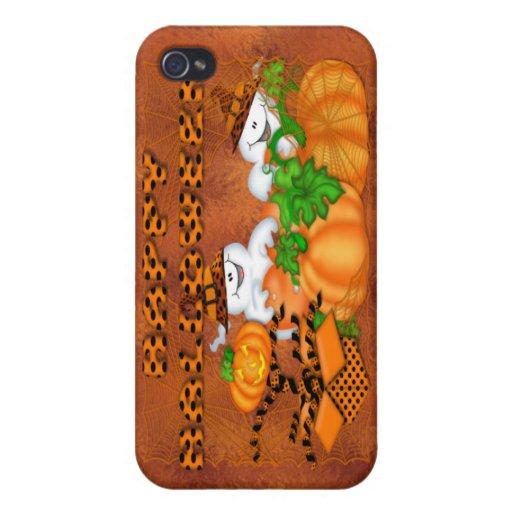 Cubierta fantasmagórica del fantasma iPhone4 iPhone 4/4S Fundas