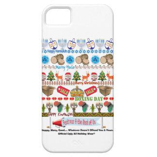 Cubierta fea del teléfono del suéter funda para iPhone SE/5/5s