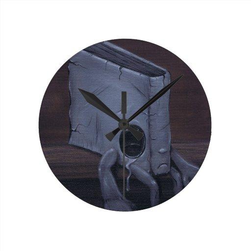 Cubierta fea relojes de pared
