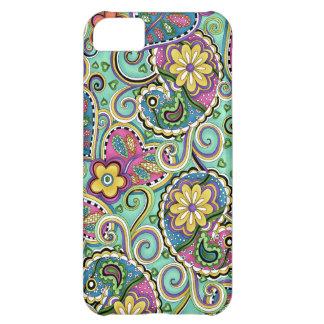 Cubierta feliz del iPhone 5 del trullo de Paisley