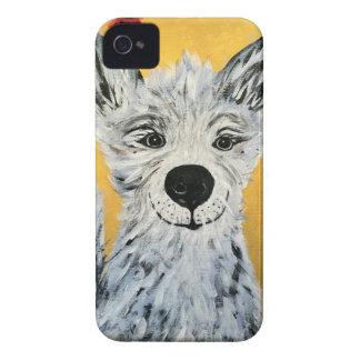 Cubierta feliz del perro IPhone4 iPhone 4 Carcasa