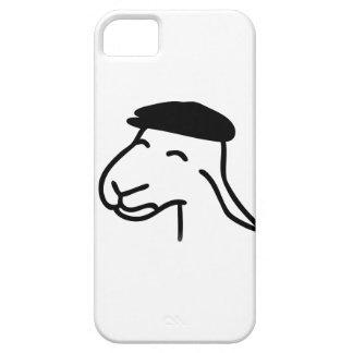Cubierta feliz del teléfono de las ovejas funda para iPhone SE/5/5s