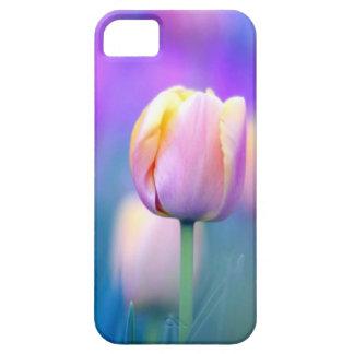 Cubierta floral del iPhone 5 del tulipán Funda Para iPhone SE/5/5s