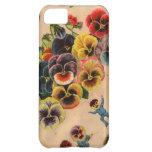 Cubierta floral del iPhone del diseño gráfico de l