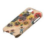 Cubierta floral del iPhone del diseño gráfico de l iPhone 5 Case-Mate Cobertura