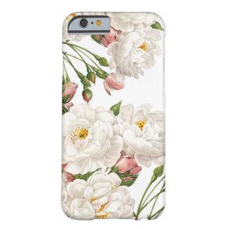 Cubierta floral linda de Iphone, rosas Funda Barely There iPhone 6