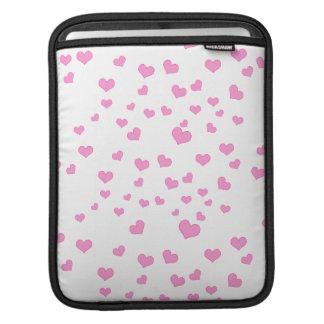 Cubierta flotante rosada del fondo de los manga de iPad