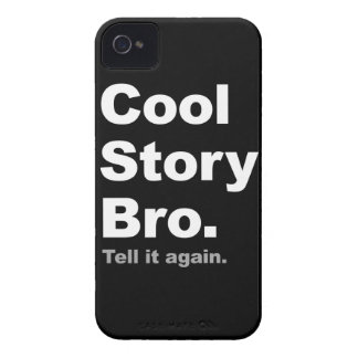 Cubierta fresca de Bro de la historia Case-Mate iPhone 4 Carcasa